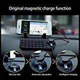 #8: PERFECT SHOPO Car Holder Gps USB Mobile Charger Cradle Anti Slip Pad Iphone Samsung Htc