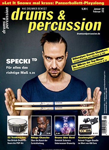 drums & percussion [Jahresabo]