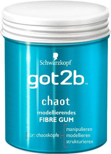 Got2b Chaot Fibre Gum, 2er Pack (2 x 100 ml)