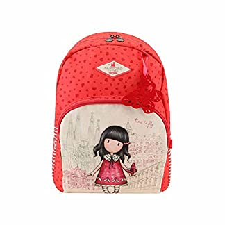 Gorjuss – Mochila Escolar Doble Gorjuss Time To Fly Adaptable A Carro – -5% En Libros