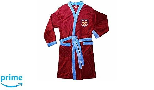Official West Ham United Premier League Adults Dressing Gown