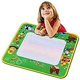 Smibie Regenbogen-Matte Wasser Doodle Malmatte mit Wasserfarben Pinsel , Rainbow XXL Color Bauernhof (Grün)
