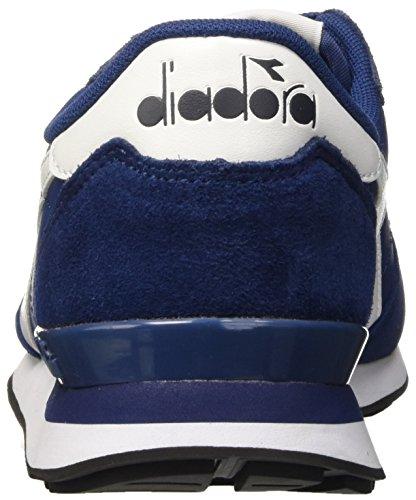 Diadora Herren Camaro Leather Pumps Blu (Blu Estate/Bianco)