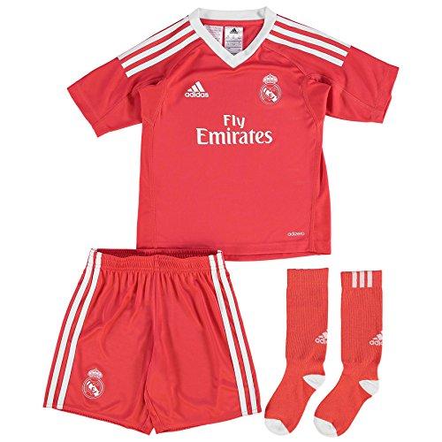 adidas  Real Madrid a Gk Mini, Rot (Rojbri/Bianco), 116 (Herstellergröße: 5 - 6 jahre)