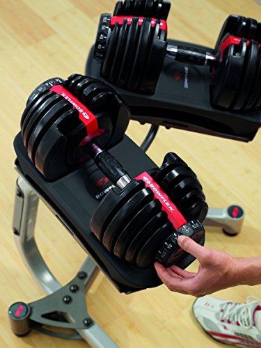 Bowflex Adultes Selec ttech 552i Haltère Système Haltère individuels, Noir, Taille Unique 6