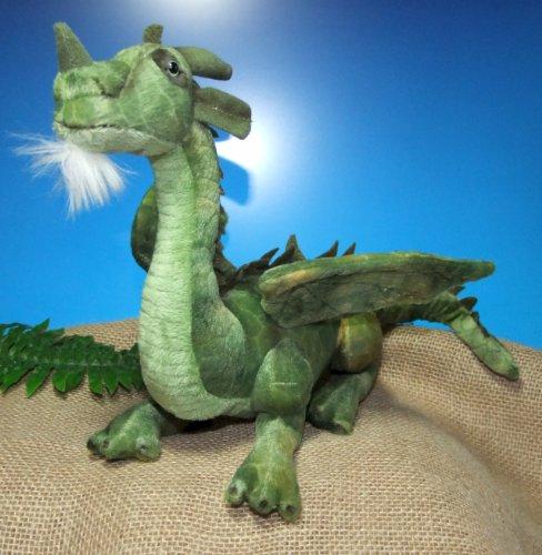 Leosco Drache, 46 cm, grün, Plüschtier, Kuscheldrache, Dragon, Stoffdrache