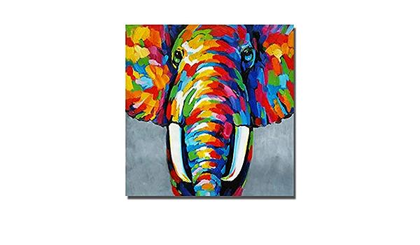 Wundervolles   Leinwand Bilder Set 15F0075300 Elefantenfamilie Relief Abstraktio