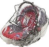 Playshoes 448953 Universal Regenverdeck, Regenschutz, Regenhaube für die Baby-Schale mit Kontaktfenster