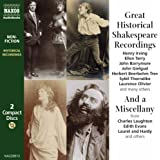 Great Historical Shakespeare Recordings and a Miscellany