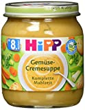 HiPP Bio Gemüse-Cremesuppe, 1er Pack (1 x 200 g)