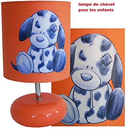 Nachttischlampe Schaffung von handwerkliche Typ Serviettentechnik Fuß Keramik das kleine Hunde