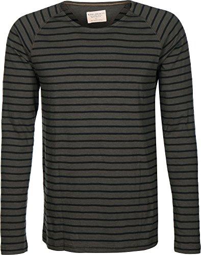 nudie-otto-raglan-french-stripe-longsleeve-xl-bunker-black