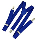 Ammvi Creations Indigo Blue Suspenders f...