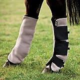 Horseware Rambo Fly Boots Vamoose Full Oatmeal/Black