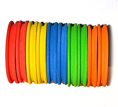 10 EVA RIG WINDERS 65mm for sea fishing match rigs from BZS