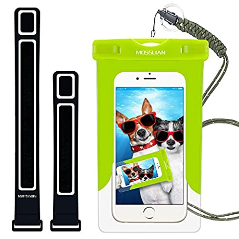 Wasserfeste Handy: MOSSLIAN Wasserdichte Handy Hülle Tasche Beutel Universalhülle mit