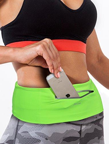 Terra Outdoor Flexible Running Fuel Belt & Fitness Workout Belt For Women And Men - Best Exercise Waist Pack -... - B01874LNWY