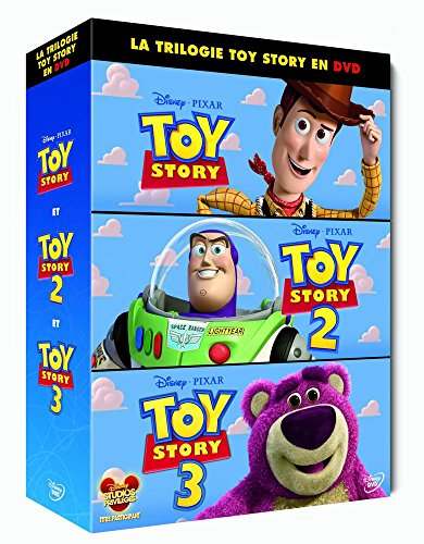 Toy Story + Toy Story 2 + Toy Story 3 - coffret 3 DVD