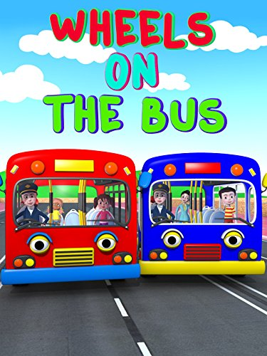 Nursery Rhyme - The Wheels On The Bus - Nursery Rhymes And Kids Song Video 3D - Learning Colors Bus [OV]