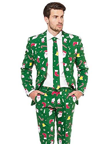 Opposuits: abiti divertenti per natale - completo: giacca, pantaloni e cravatta