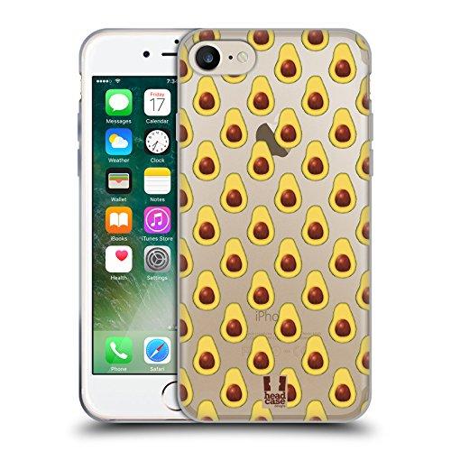 Head Case Designs Modèle Empreintes D'avocat Étui Coque en Gel molle pour Apple iPhone 5 / 5s / SE Modèle