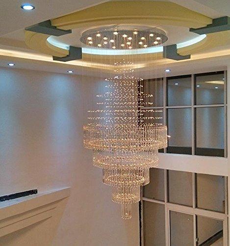 Linie Kristall Kronleuchter GU10 Hall Wohnzimmer Lampe Lights In Der Empfangshalle Treppenhaus Kreativen Architektenpersnlichkeit