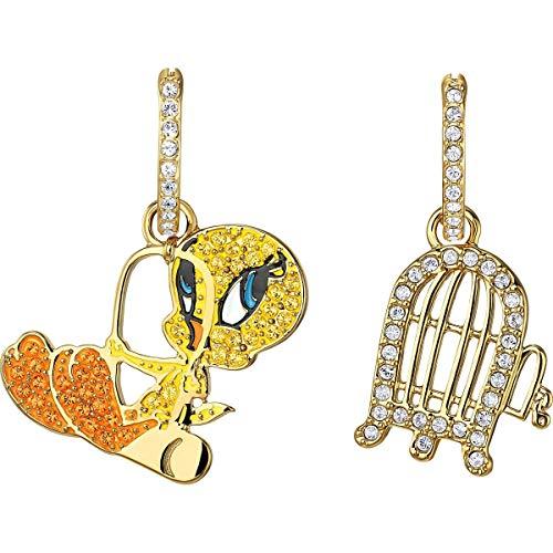 Swarovski orecchini a pendolo e goccia donna acciaio_inossidabile - 5487637