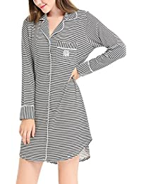 Amazon.co.uk  Multicolour - Nightdresses   Nightshirts   Nightwear ... 69fb3fa96