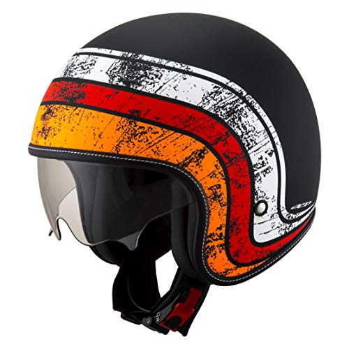 Suomy KSRK0010.6 Helm ROKK Zodiac Matt Blk/Wht/Red-XL -