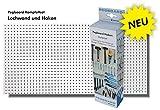 Pegboard®-Set - Lochplatte 120 x 60 x 0,5 cm und 67-teiliges Hakenset. Alles um sofort Ordnung zu schaffen.