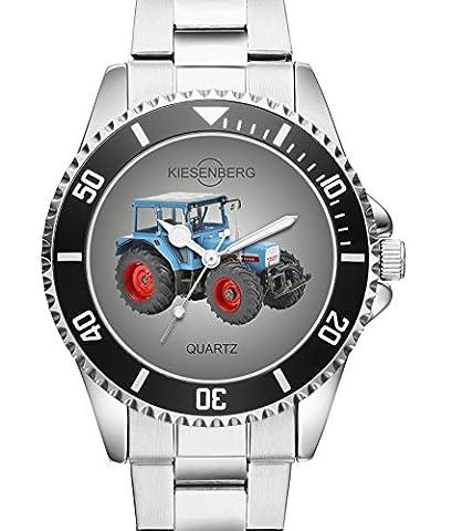 Traktor Trecker Eicher 3125 Geschenk Fan Artikel Zubehör Uhr -