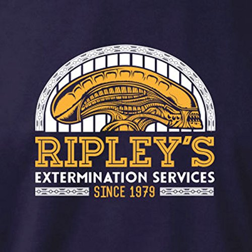 TEXLAB - Ripley's Extermination Services - Herren T-Shirt Rot