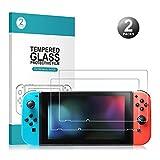 Nintendo Switch Display Schutzfolie - Younik 0,25 mm/9H Premium geh�rtetes Glas Displayschutz f�r Nintendo Switch(2 Packungen), Nicht f�r ds Bild