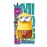 Minions - Badetuch Strandtuch - Funny Paradise - 70 x 140 cm