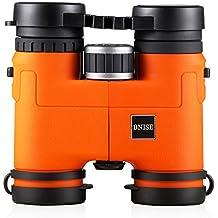BNISE® - 8X32 Lightweight Compact Binoculars - Magnesium Alloy Body - Fully Multi-coated Optics and Phase Coated BaK-4 Prisms - Bright and Undistorted Image (8x32, Orange)
