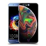 Head Case Designs Regenbogen Acryl Giessende Planeten Ruckseite Hülle für Huawei Honor 8 Pro
