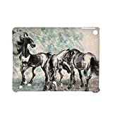 With Asian Horse Artists For Girl Fashionable Case For Ipad Air2 Rigid Plastic