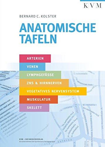 Anatomische Tafeln: Arterien, Venen, Lymphgefäße, ZNS & Hirnnerven, Vegetatives Nervensystem, Muskulatur, Skelett