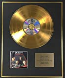 Queen - Edition Limitée Exclusive disque d'or 24 carats - Greatest Hits