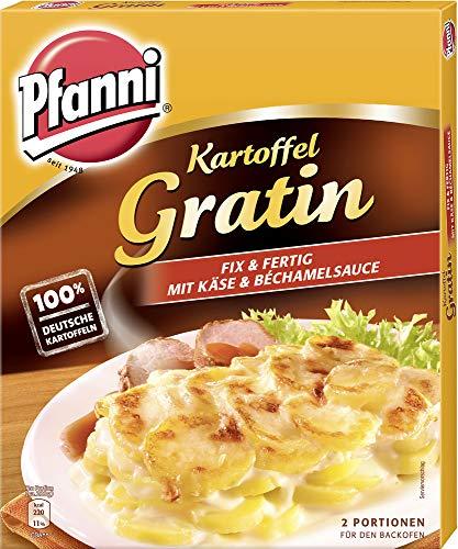 Pfanni Kartoffel Gratin Fix & Fertig mit Käse uund Béchamelsauce 2 Portionen, 5er Pack (5 x 400 g)