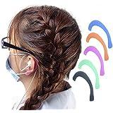 5 paires de boucles d'oreilles douces pour réduire la pression de l'oreille confortablement pour les adultes et les enfants.