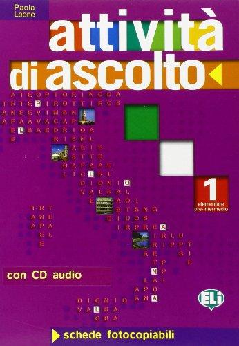 Attivita di ascolto 1 (1CD audio)