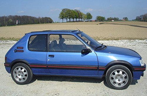 peugeot-205-gti-19-paint-colours-codes-english-edition