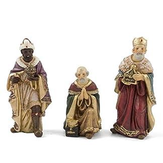 Gerimport Reyes Magos Juego 3 Piezas 12cm