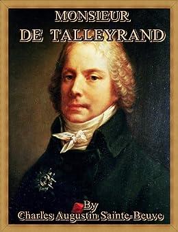 Monsieur de Talleyrand (French Edition) par [Sainte-Beuve, Charles Augustin]