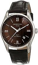 Comprar Certina  - Reloj Analógico de Automático para Hombre, correa de Cuero color Marrón