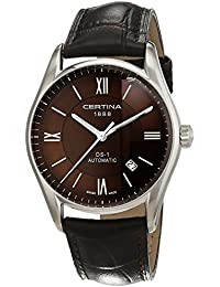 Certina Men's Watch XL Analogue Automatic Leather C006,407,16,298,00