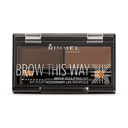 Rimmel London - cejas ese kit manera escultura - Marrón oscuro