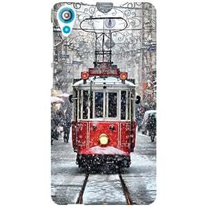 HTC Desire 820Q Back Cover - Bus Designer Cases