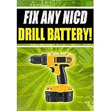 Fix Any NICD Bosch Battery GSA 36 V-LI GSB 12 VE-2 GSB 12 VSE-2 (English Edition)